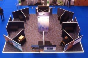 Exhibition modular walling