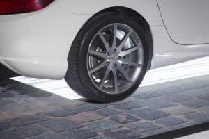 Cableflor car showroom flooring