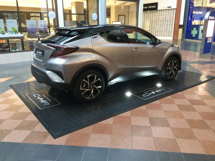 Toyota dealership events at Meadowhall/Westfield Centres