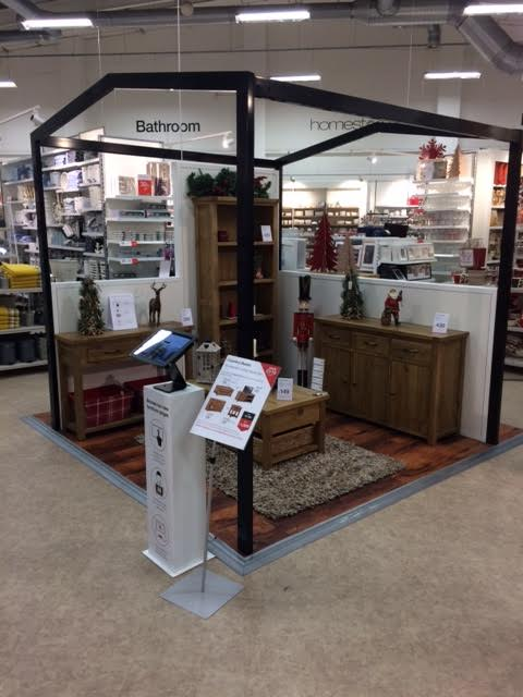 Matalan feature areas, Leeds Manchester and Stockport stores