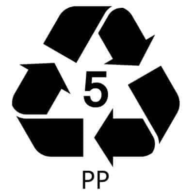 PP Recycle Symbol
