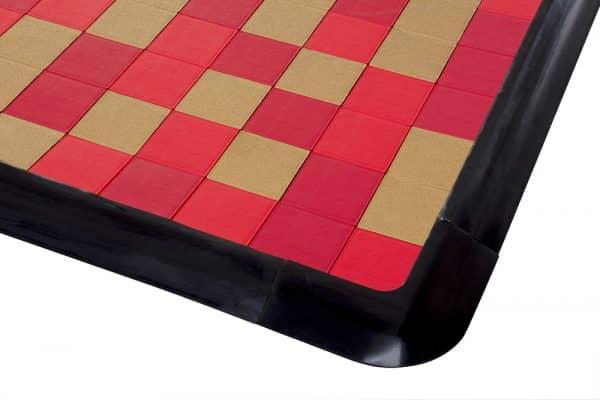 black rubber corner