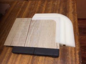 rubber corner