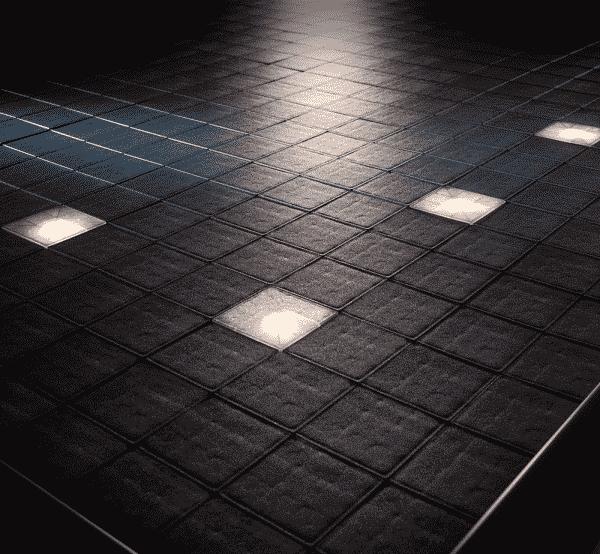 floor spot lights