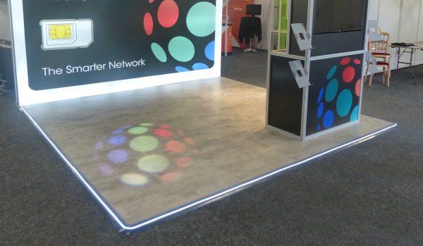 exhibition floor edging