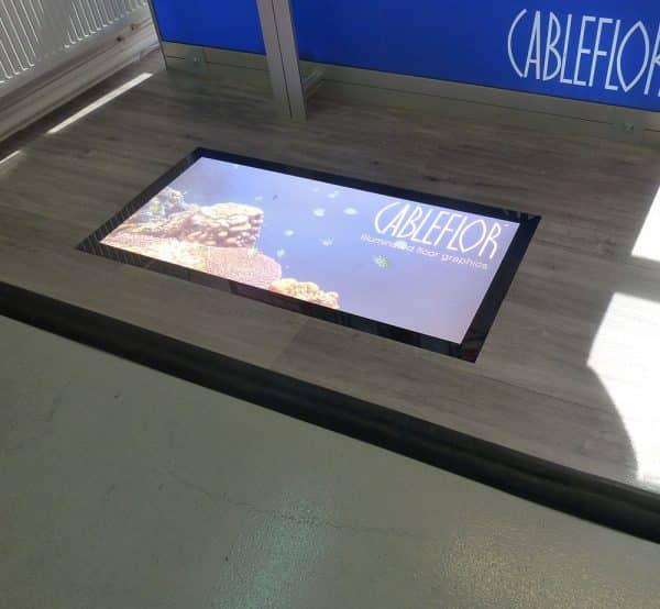 floor lightbox