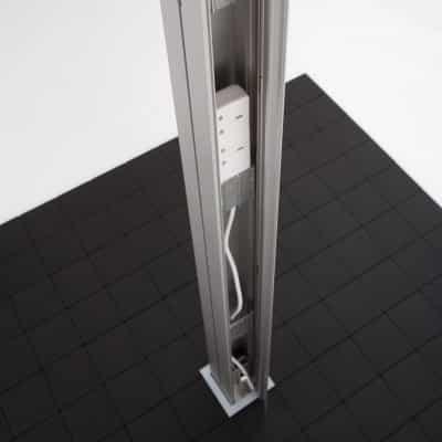 freestanding post