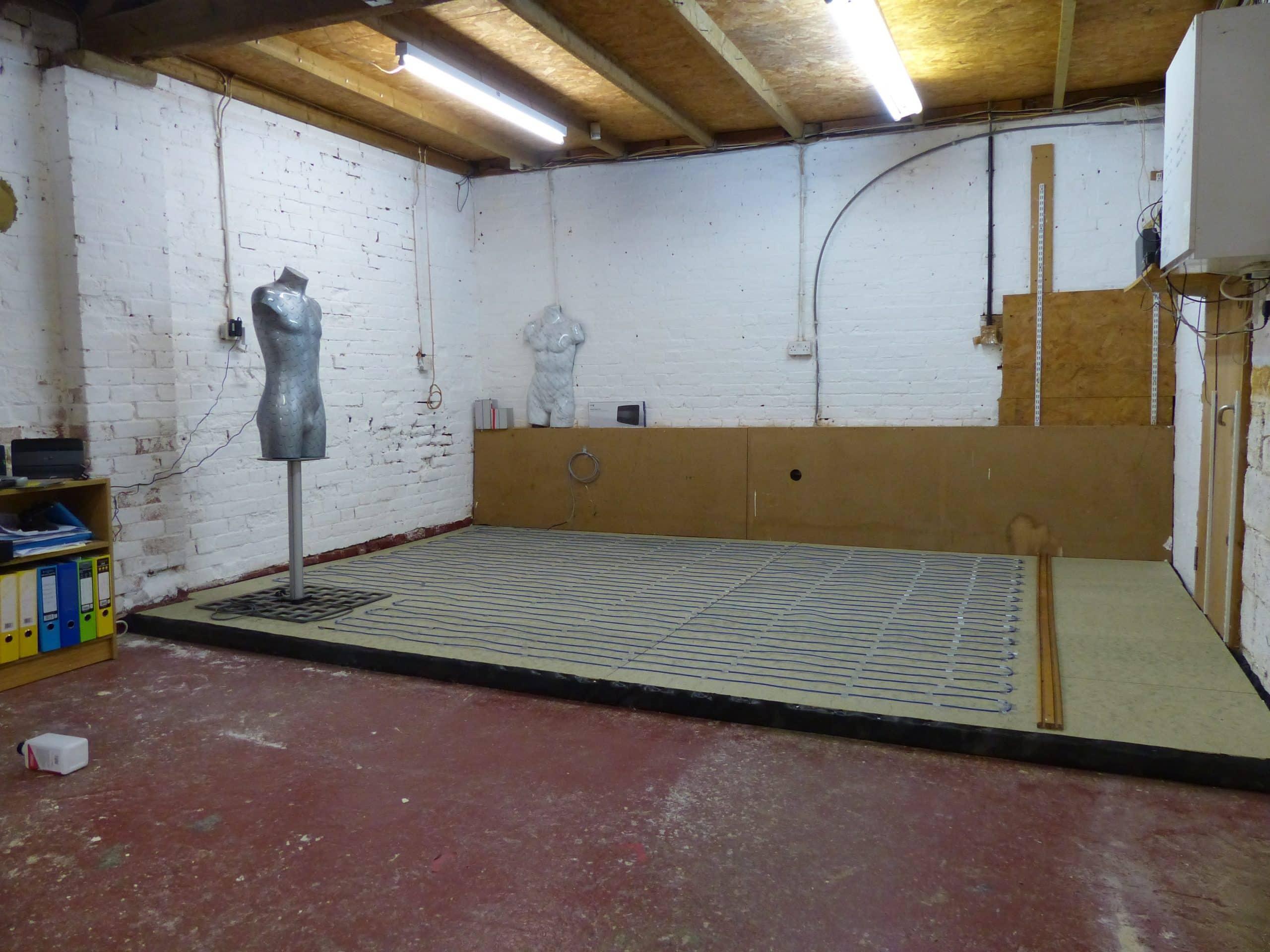 underfloor heating assembly