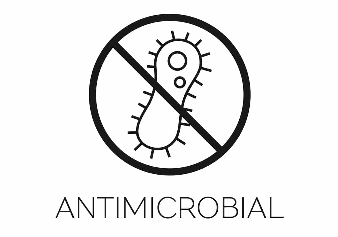 anti-microbial floor