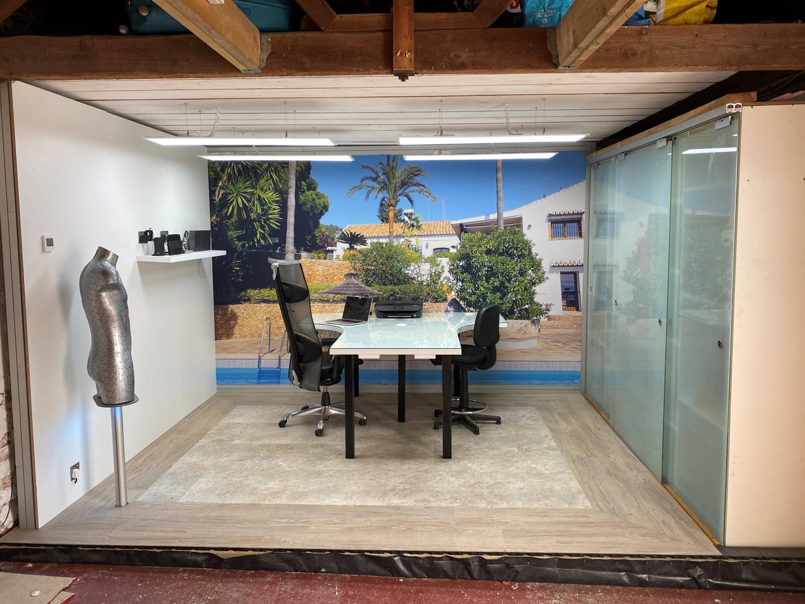 """Featured image for """"How to build  room in a garage"""""""